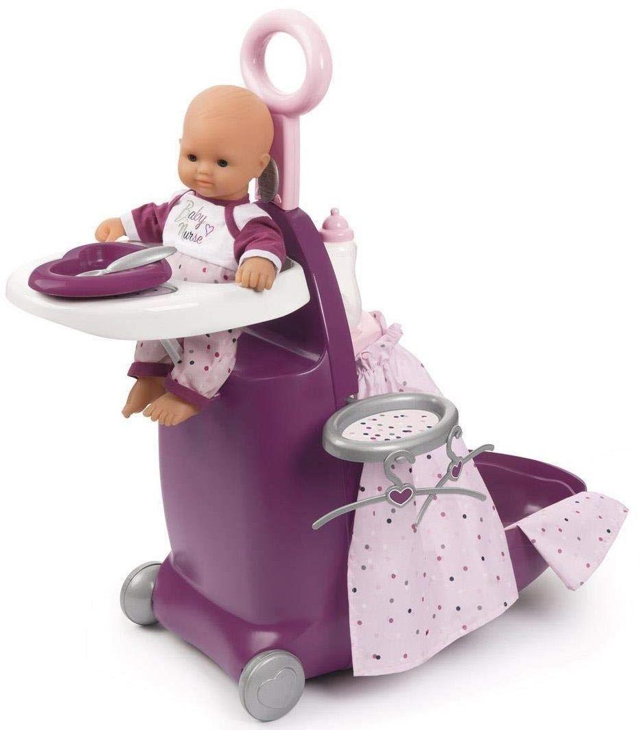 Smoby Baby Nurse - Wielofunkcyjna walizka Centrum opieki 3w1 220346