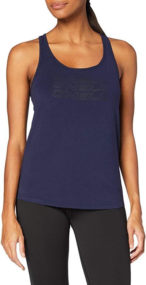O''Neill Damska koszulka Triple Stack racer tanktop Tank Top, Scale, XS