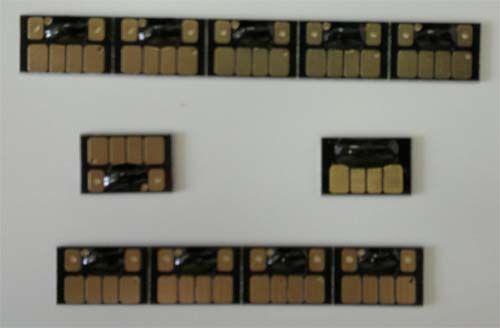 Zgodny chip jednorazowy do kartridży do Epson T3200 T5200 T7200