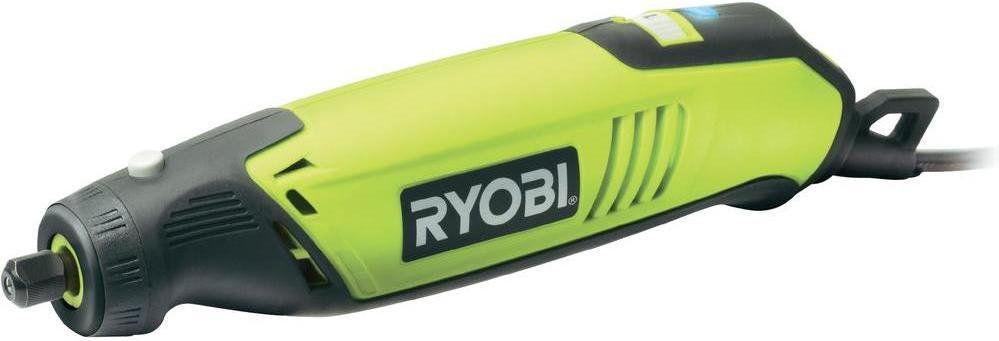Szlifierka prosta Ryobi EHT150V z akcesoriami (115 sztuk)