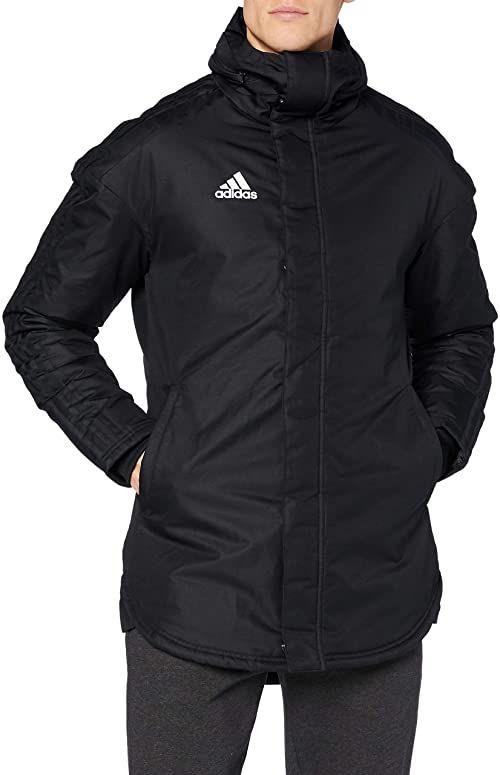 adidas Męska kurtka sportowa Jkt18 Std Parka czarny czarny/biały S