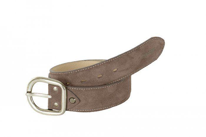 Pasek do spodni skórzany - Pikeur - taupe