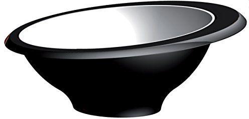 Bugatti glnu-02174 Glamour stół misa San czarna 13 x 13 x 5,5 cm