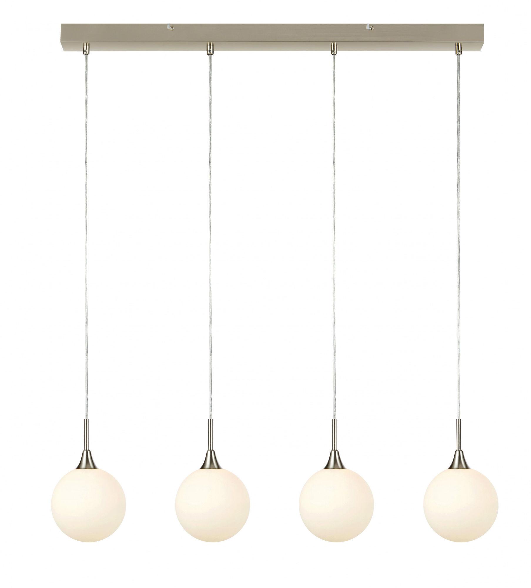 Lampa wisząca Quattro 107761 Markslojd minimalistyczna oprawa w kolorze stalowym