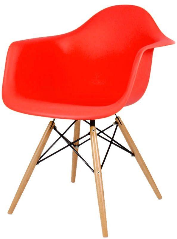 Sk Design Kr012f Czerwony Fotel Buk