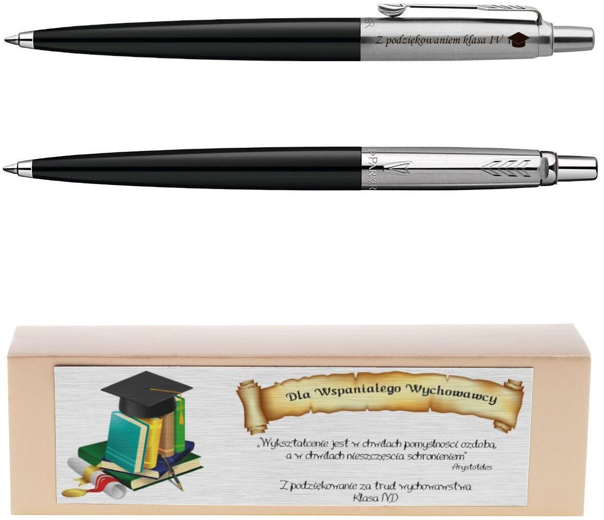 Długopis Jotter Special Czarny Prezent z Twoim Grawerem i Dedykacją