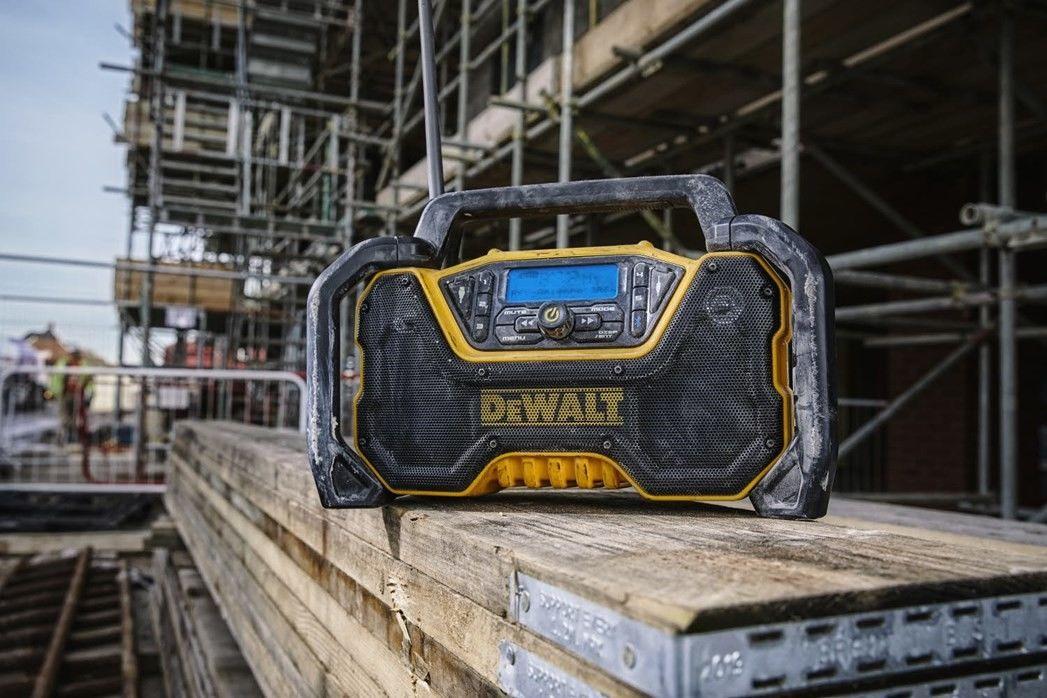 radio budowlane 18V/54V, DAB+/FM, Bluetooth, USB, AUX, DeWalt [DCR029-QW]