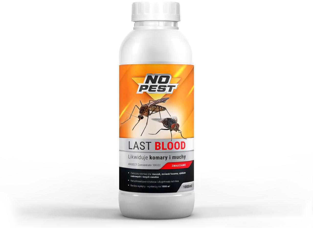 LAST BLOOD NO PEST  1l Najlepszy oprysk na komary, kleszcze, muchy, mrówki.