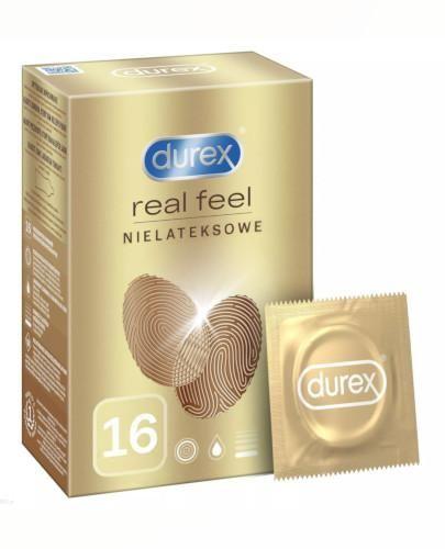 Durex RealFeel Ultra Smooth prezerwatywy 16 sztuk [KUP 2 produkty = pudełko na Prezerwatywy]