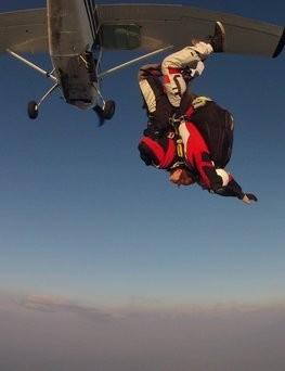 Skok ze spadochronem  Rzeszów