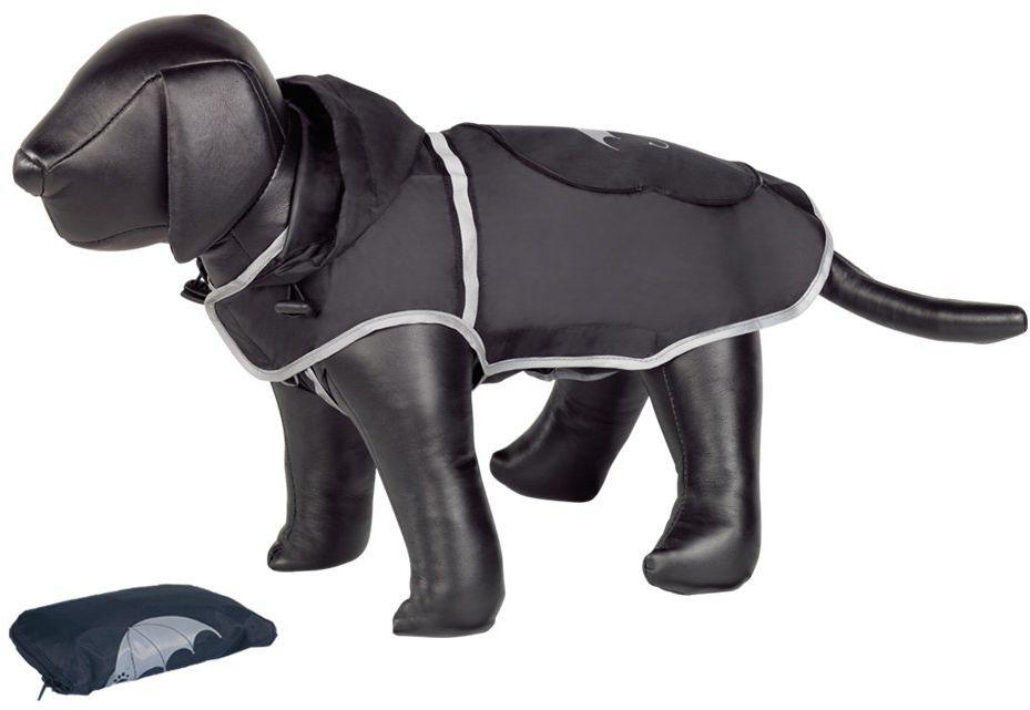 Nobby Rainy Dog płaszcz przeciwdeszczowy, 40 cm, czarny