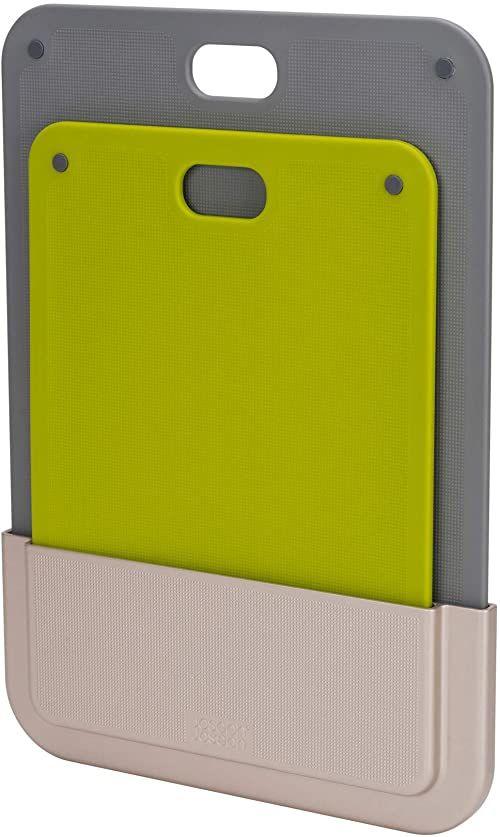 Joseph Joseph DoorStore Chop  2-częściowy zestaw desek do krojenia do drzwi szafki kuchennej  wielokolorowy