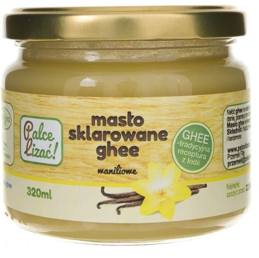 Palce Lizać Masło sklarowane ghee waniliowe - 320 ml