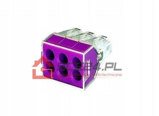 Szybkozłączki 6x2,5 20A ZŁĄCZKA KABEL 10 sztuk