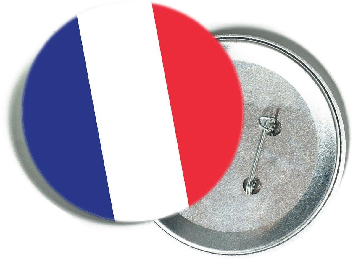 Przypinka Flaga Francji - 1 szt.
