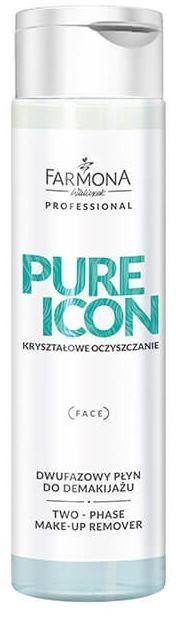 PURE ICON Dwufazowy płyn do demakijażu 250 ml