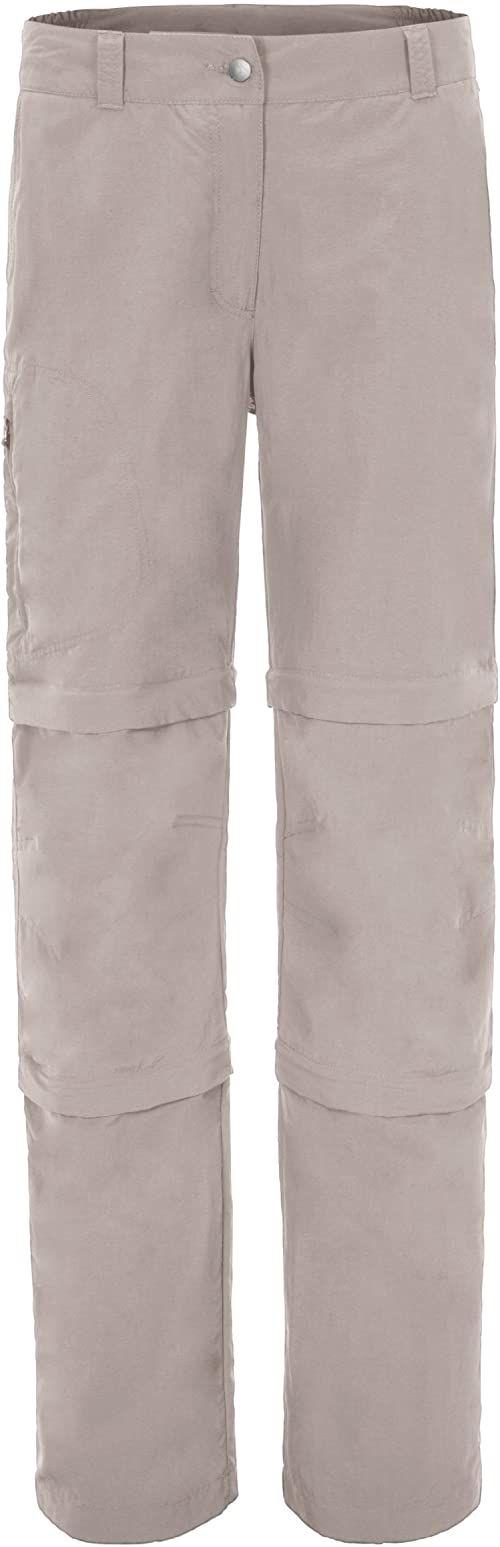 Maier Sports Damskie spodnie z odpinanymi nogawkami beżowy szary (Feather Gray) 22
