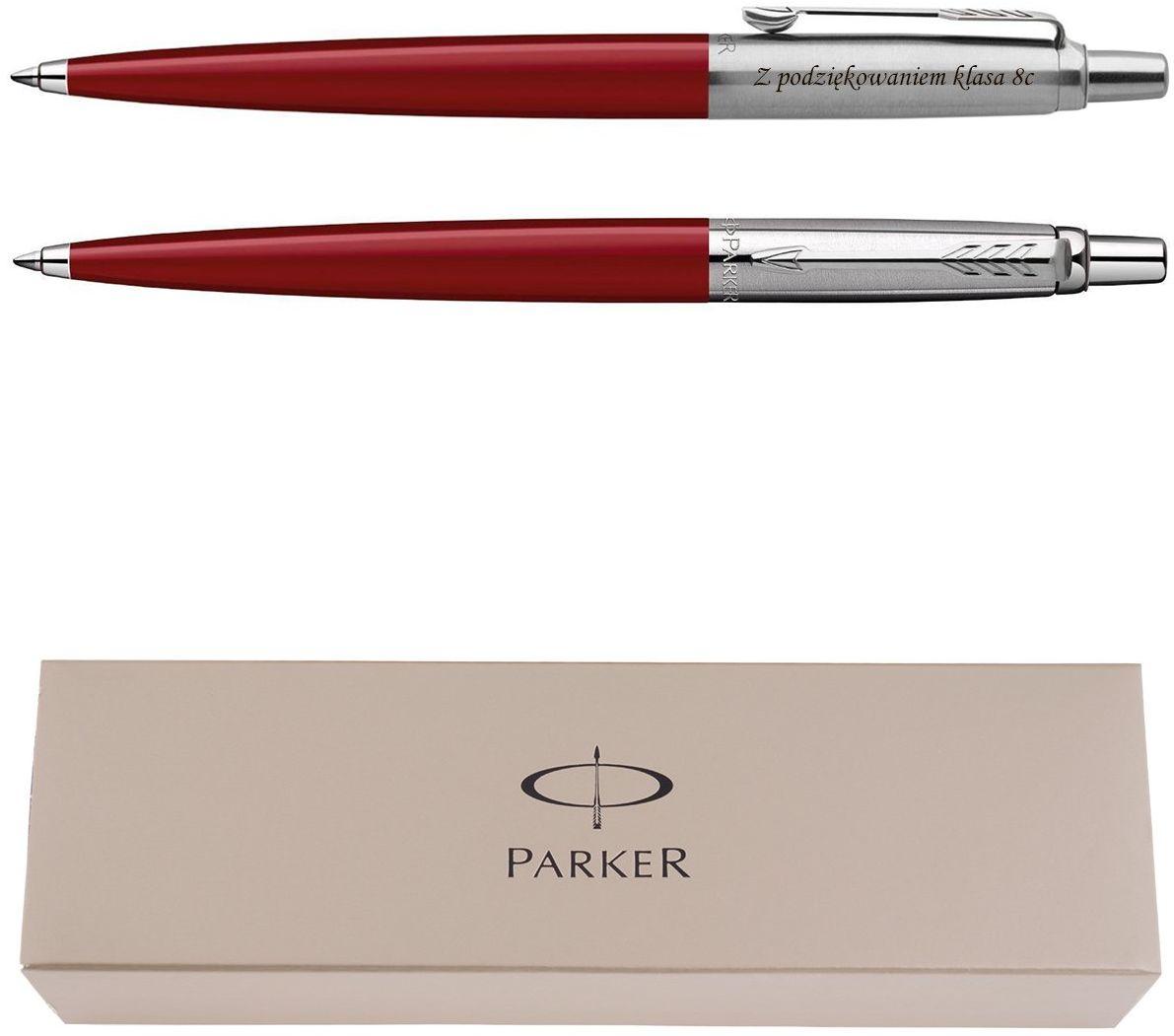 Długopis Jotter Special Czerwony Prezent z Twoim Grawerem