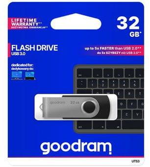 Goodram twister 32gb USB 3,0 czarny pendrive