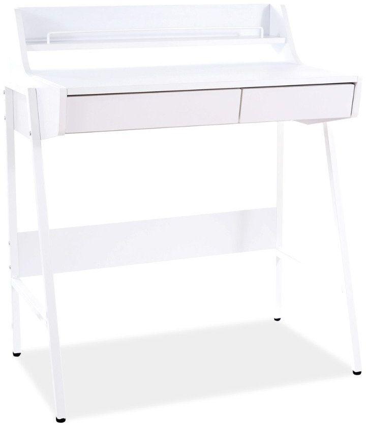 Biurko B-168 białe do biura w stylu skandynawskim  KUP TERAZ - OTRZYMAJ RABAT