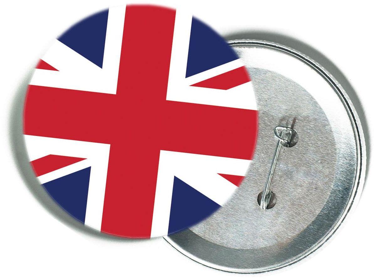 Przypinka Flaga Wielkiej Brytanii - 1 szt.