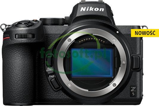 Nikon Z5 + Z 24-70mm F/4 S Czarny + karta Sandisk 32GB+ Gwarancja na 36 miesięcy