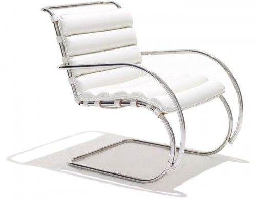 Fotel skóra naturalna insp. Mr Lounge Arm z podłokietnikami