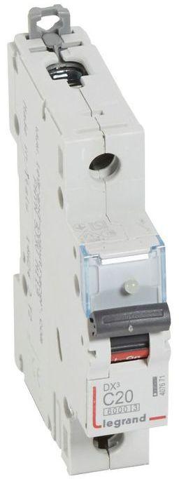 Wyłącznik nadprądowy 1P C 20A 6kA S301 DX3 407671