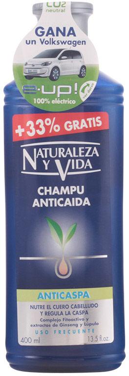Nature And Life Szampon przeciwłupieżowy przeciw wypadaniu włosów 300ml
