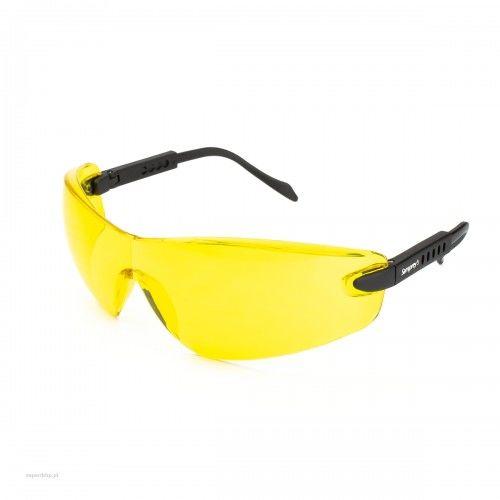 Okulary ochronne SAMPREYS SA 330 szybki żółte