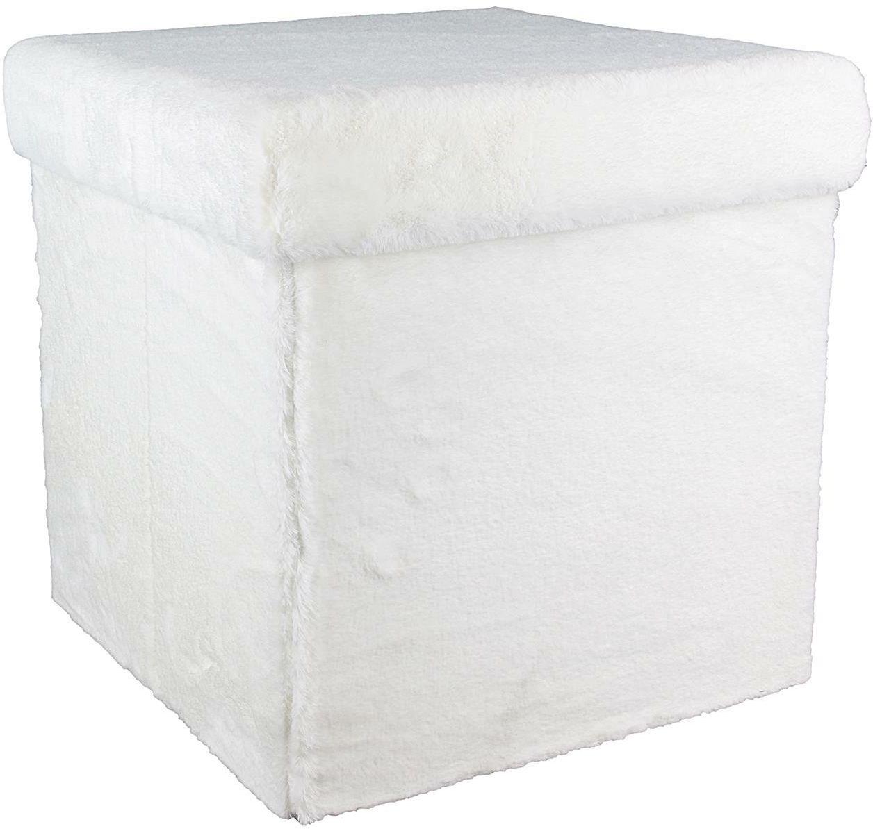 Pufa INTESI FURY VELS biała