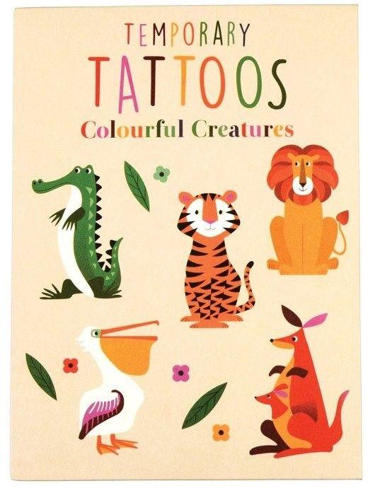 REX LONDON - Tatuaże Zmywalne Dla Dzieci, Zwierzaki, Rex London