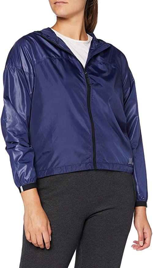 New Balance Light Packable kurtka damska, techtonic, niebieska, średnia