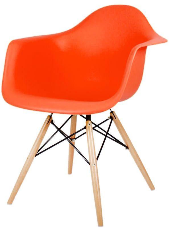 Sk Design Kr012f Pomarańczowy Fotel Buk