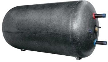 Podgrzewacz wody z wężownicą bojler poziomy 80 L, 6 Lata gwarancji