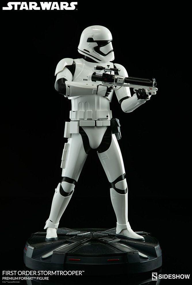 Sideshow SS300496 Star Wars Episoda VII Premium Format Figur, First Order Stormtrooper 50 cm