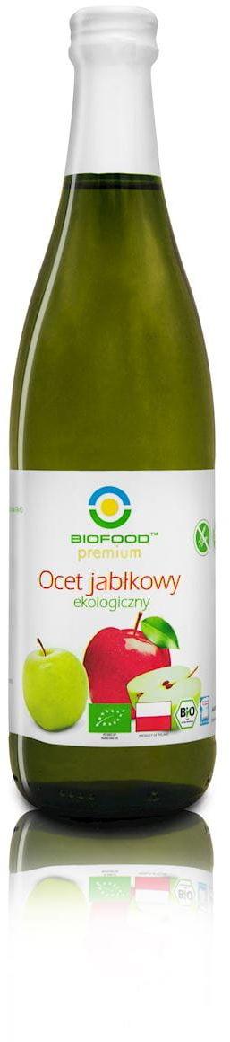 Ocet jabłkowy niefiltrowany bio 500 ml - bio food