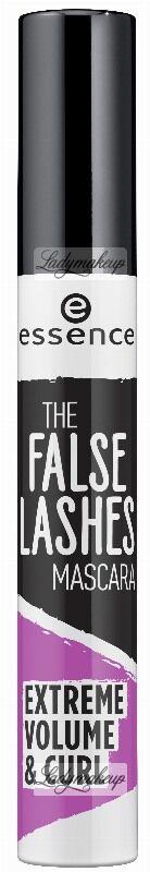 Essence - THE FALSE LASHES MASCARA - EXTREME VOLUME & CURL - Tusz zapewniający efekt sztucznych rzęs