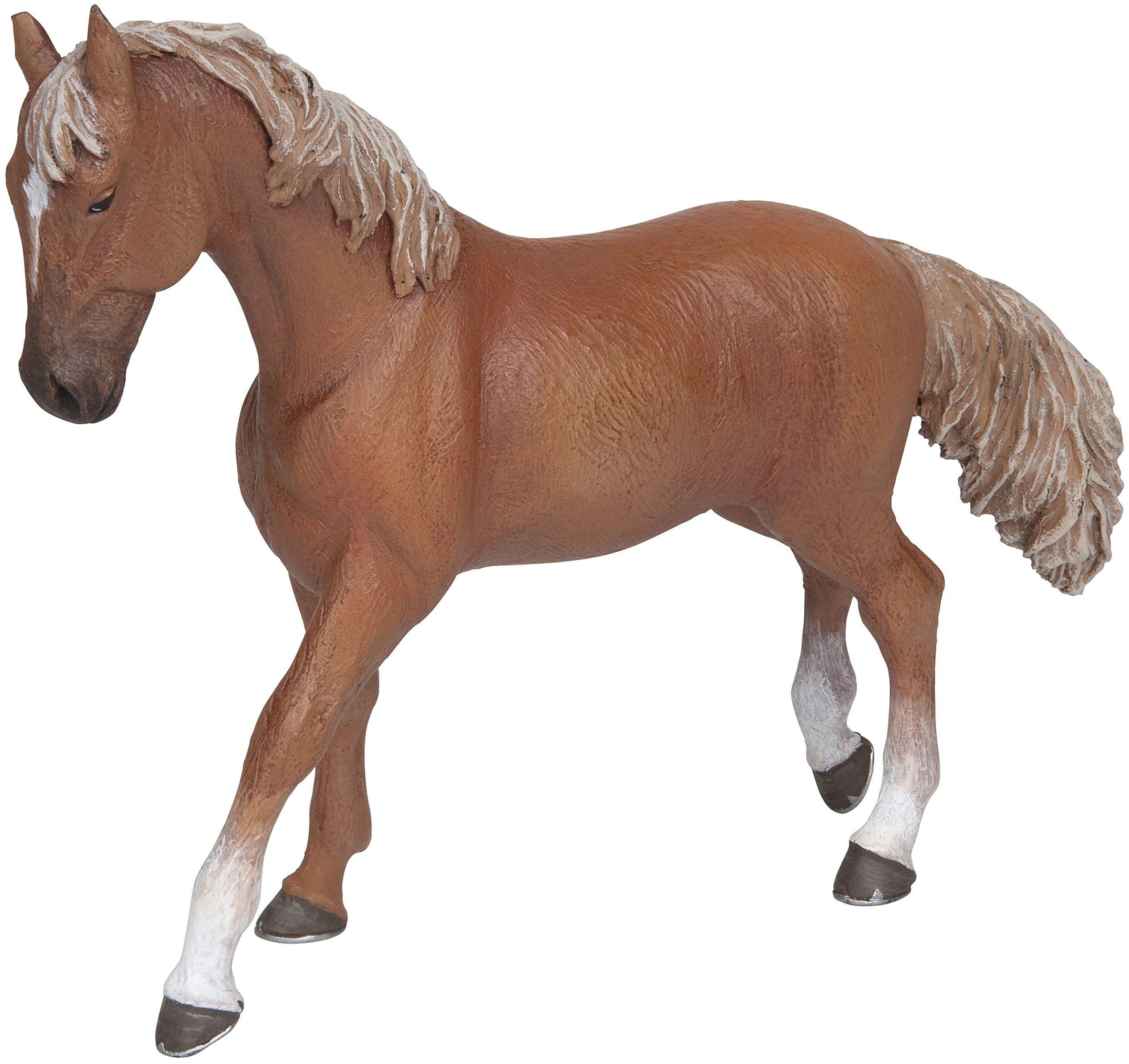 Papo 51533 konie, kule i Pony Araber Anglo Stute czerwono-brązowe, wielobarwne