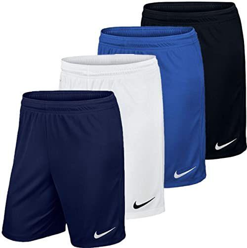 Nike Krótkie spodenki uniseks Park Iii Nb Uniwersytet czerwony/biały S