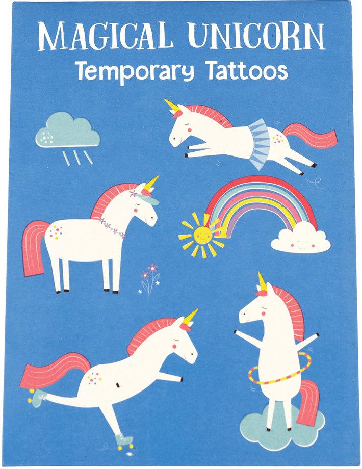 REX LONDON - Tatuaże Zmywalne Dla Dzieci, Magiczny Jednorożec, Rex London