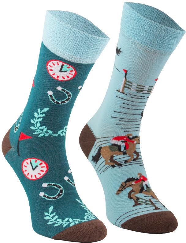 Lucky Horse, Todo Socks, Jeździec, Podkowy, Kolorowe Skarpetki