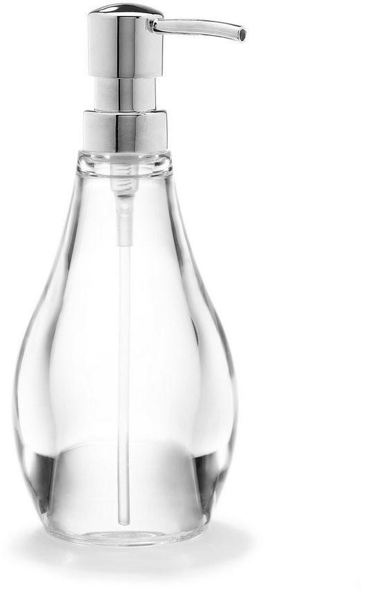 Umbra - dozownik do mydła - droplet - przeźroczysty
