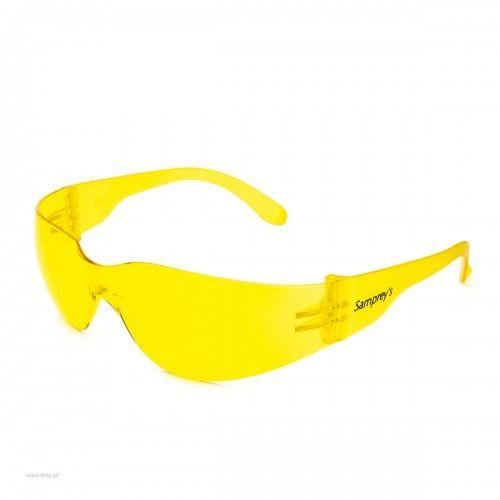 Okulary ochronne SAMPREYS SA 130 szybki żółte