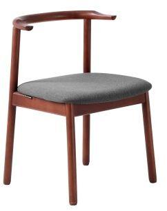 Krzesło Kubrik orzech