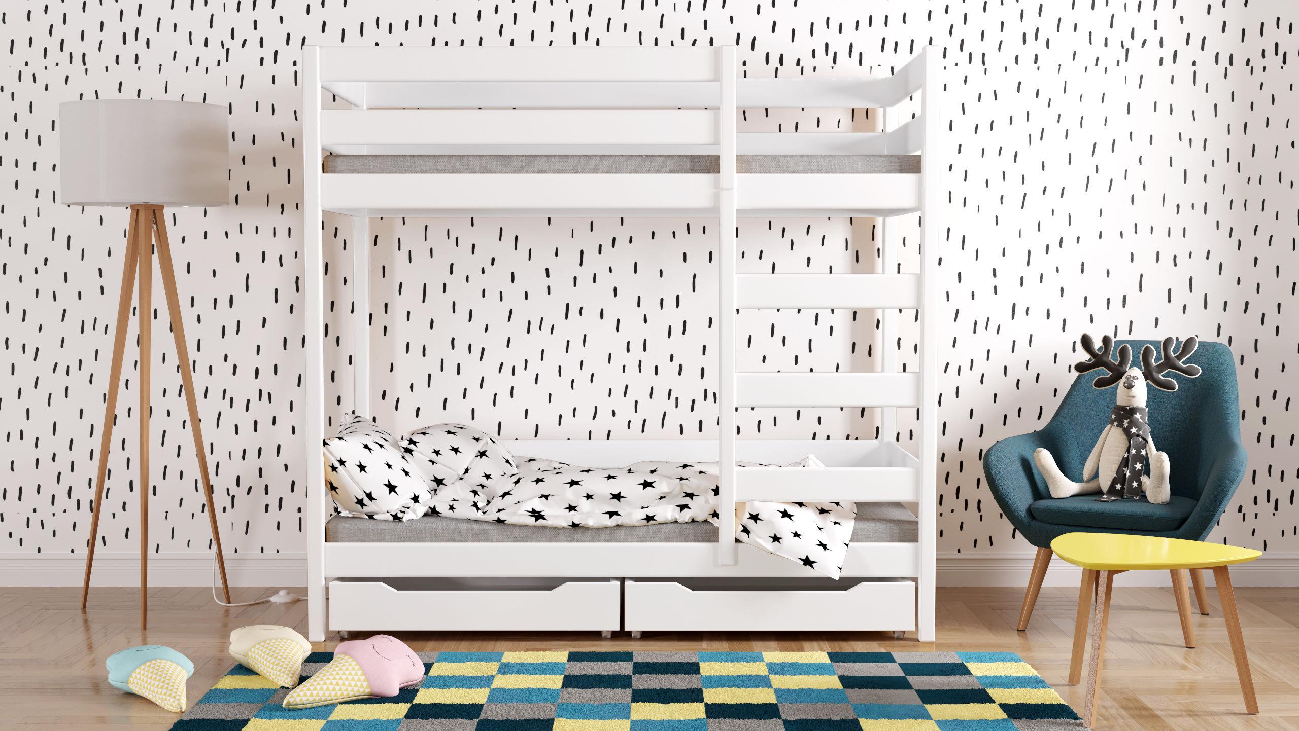 Łóżko dziecięce piętrowe Wanda Plus W1