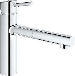GROHE 30273001 Concetto new Concetto OHM sink pull-out spray