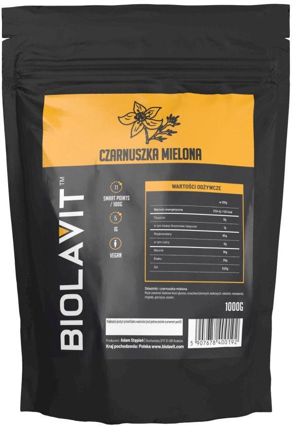 Biolavit Czarnuszka mielona - 1000 g