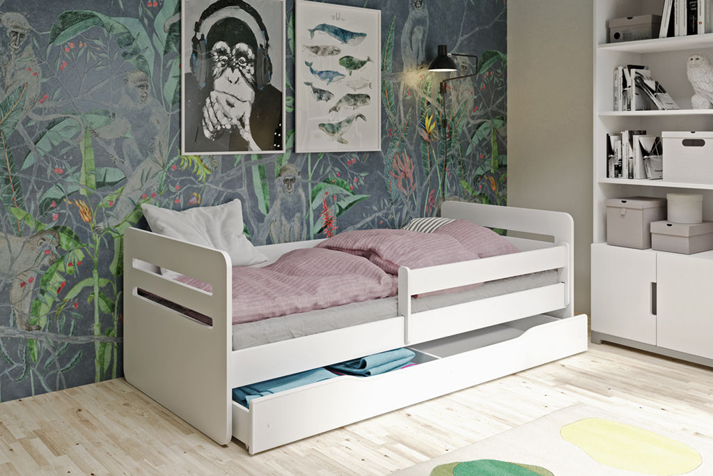 Łóżko dziecięce TOMI 180x80 białe