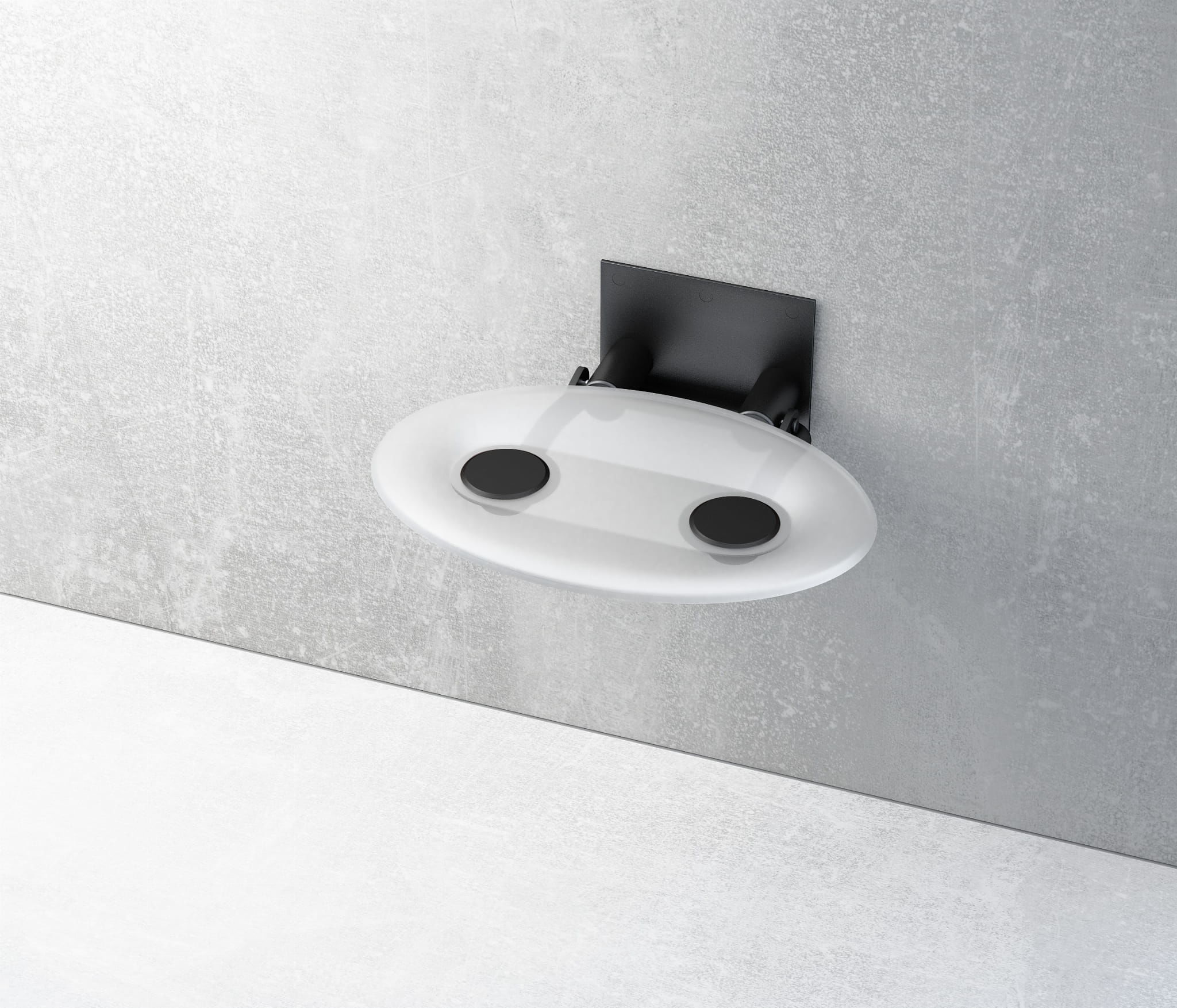 Ravak siedzisko prysznicowe Ovo P Clear/czarne B8F0000042 wysyłka 24h